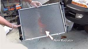 2002 Mercury Sable Radiator  How To Remove Radiator 2002