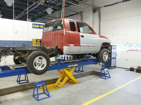 » Car-o-liner Benchrack Installations