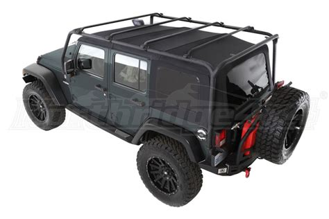 smittybilt roof rack jeep jk 4dr smittybilt src roof rack kit black jeep
