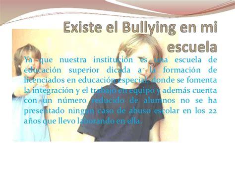 Bullying En La Escuela Bullying En Mi Escuela