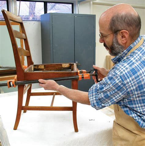 regluing doweled chairs popular woodworking magazine