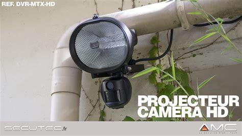 projecteur exterieur avec a detection de mouvement secutec fr