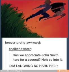 Pocahontas and John Smith Meme so into It