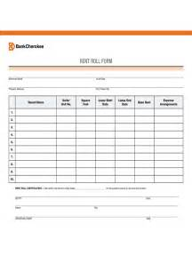 Chart Templates For Excel Rent Roll Form 5 Free Templates In Pdf Word Excel