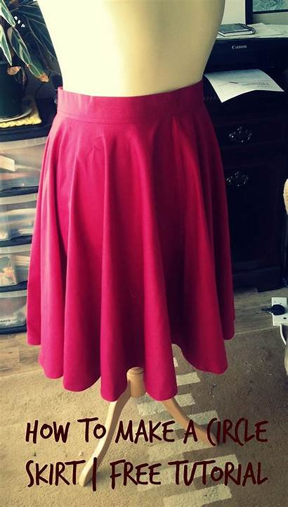 Skirt Circle Pattern Sewing Own Skirts Tutorial