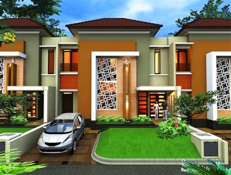 contoh desain eksterior rumah minimalis type  rumah