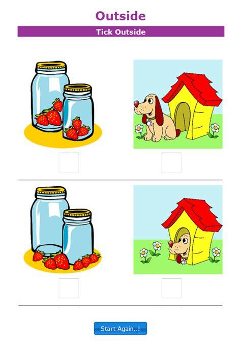 outside positional language worksheet 1 kindergarten 156 | 32ddbdfe744ed094cff6471ff12337fc
