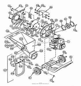 Snapper Ls5000 5 Hp Leaf Shredder Chipper Parts Diagram