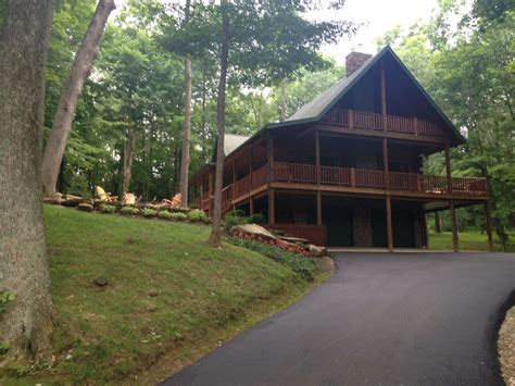 cabin rentals in ohio log home sleeps 12 to mohican homeaway ohio