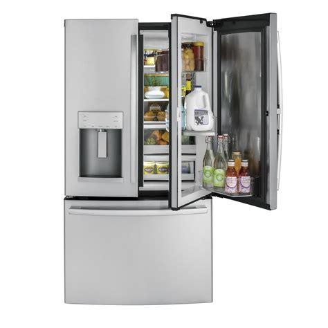 ge door refrigerator gfd28gslss ge 36 quot 27 8 cu ft door refrigerator
