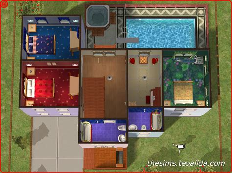 american style two story home the sims fan page