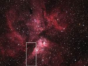 Asteroid 2012 DA14 and the Eta Carinae Nebula   NASA