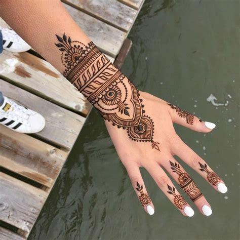 trending mehndi designs  latest henna tattoo ideas