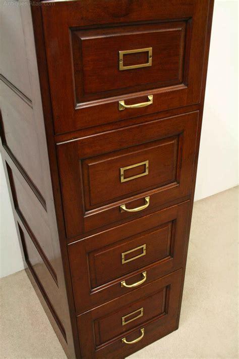 4 drawer mahogany filing cabinet mahogany filing cabinet antiques atlas