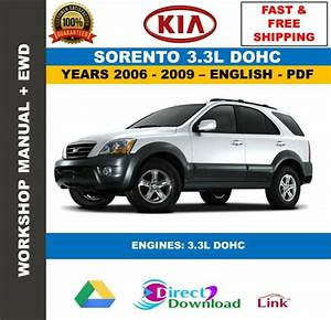 Workshop Manual Kia Sorento Bl 3 3l 2006