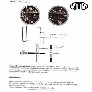 Saas Street Series Black Face Ext Temp  U0026 Diesel Turbo