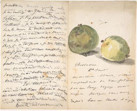 Manet Full Form by 201 Douard Manet A Letter To Eug 232 Ne Maus Decorated With