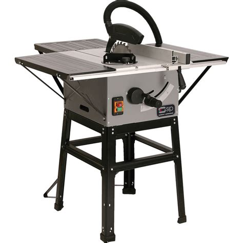 """Sip 01930 1500w 10"""" Table Saw & Stand 240v Toolstation"""