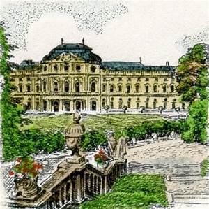 Vier Jahreszeiten Würzburg : w rzburg radierungen von sommer mit w rzburg die w rzburger residenz als titel radierungen ~ Buech-reservation.com Haus und Dekorationen