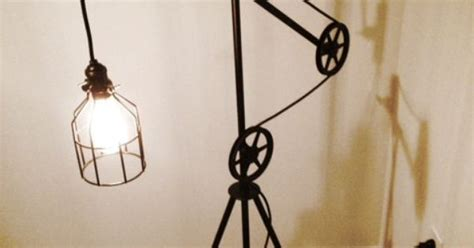 Industrial Style Pulley Floor Lamp On Etsy, 0.00