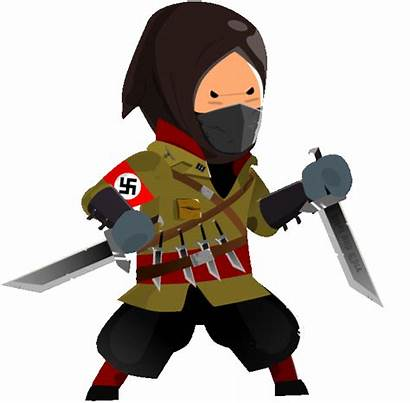 2d Animation Character Assassin Idle Games War