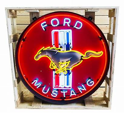 Mustang Ford Sign Neon Cm Xxl