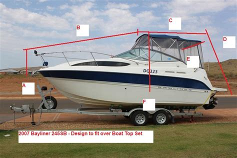 Cer Boat by Green Bayliner Cer Cover New Style For 2016 2017