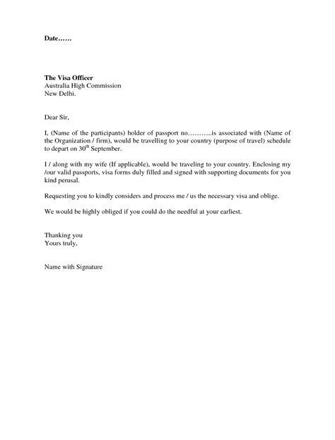 Sample Cover Letter For Australia Visitor Visa | Jidiletter.co