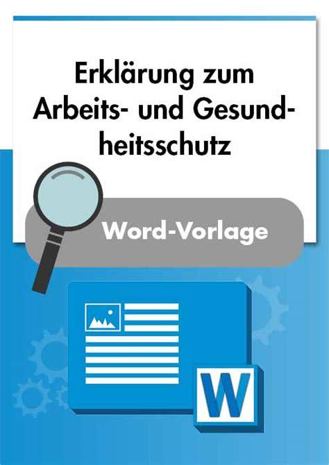 checkliste arbeitsschutzmanagement ohsas  muster