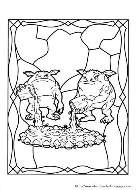 spiderwick coloring pages educational coloring 769 | spiderwick 10