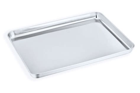 stainless steel baking cookie sheet oven toaster tray x1 pan