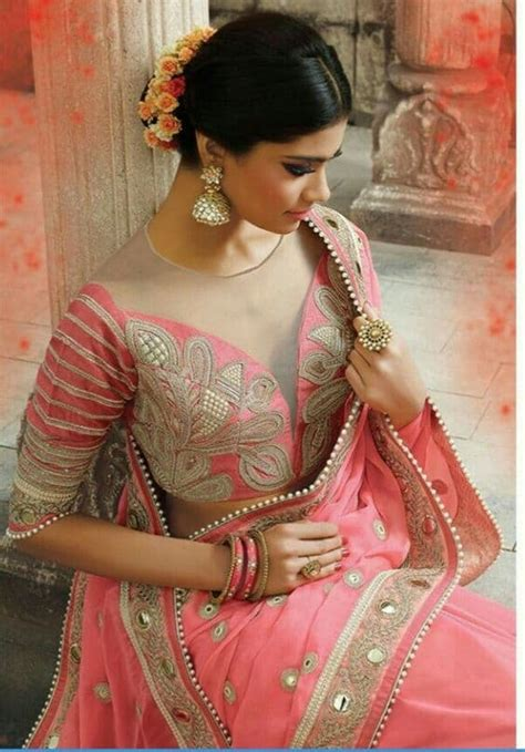 indian wedding blouse design  silk saree simple craft