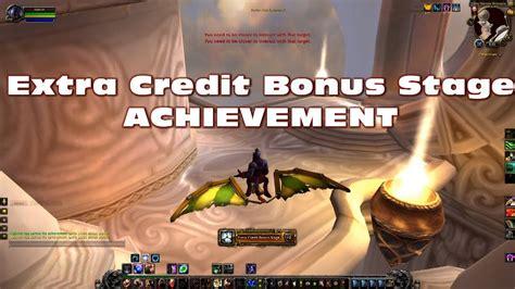 Extra Credit Bonus Stage - Achievement - World of Warcraft