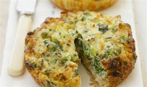 quiche sans pate brocolis quiche sans p 226 te aux brocolis weight watchers recette weight watchers