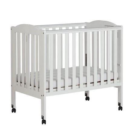 on me portable crib on me 2 in 1 folding portable crib white walmart