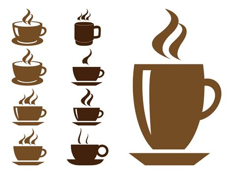 Coffee Cups Graphics Vector Art & Graphics Green Coffee Extract Health Benefits Bialetti Pod Maker Setting Clock On Does Keep You Awake Robusta Organic Vintage Bean Jumia Tassimo Lavazza Pods