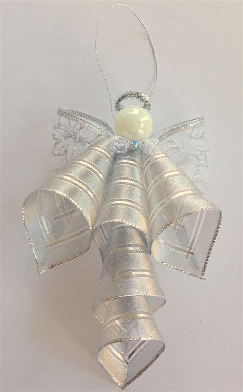 ribbon angel ornament favecraftscom