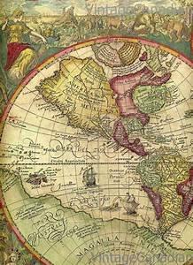 Vintage World Maps on Pinterest