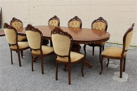 vgc vintage prov louis xiv decorative ornate dining