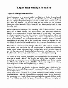 Compare And Contrast Essay Examples For High School  High School Essay Example also Abortion Essay Thesis Essays About English Essays About English As A Global  English Essays