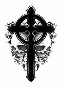 THE BLACK TATTOOS: Gothic Cross Tattoos