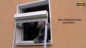 Fenster Rollos Außen Nachrüsten : foeldessy rollladen fertigelemente selber einbauen youtube ~ Frokenaadalensverden.com Haus und Dekorationen