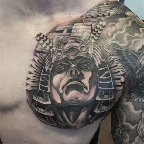 aztec tattoo designs ideas meanings