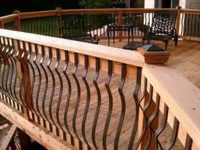 planning ideas deck railing designs iron railings for