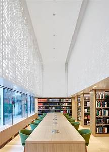 Perforations create dappled lighting inside Coffey ...