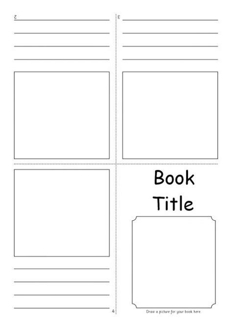 editable fold  mini book templates sb sparklebox