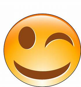 Winking Smiley Clip Art at Clker.com - vector clip art ...