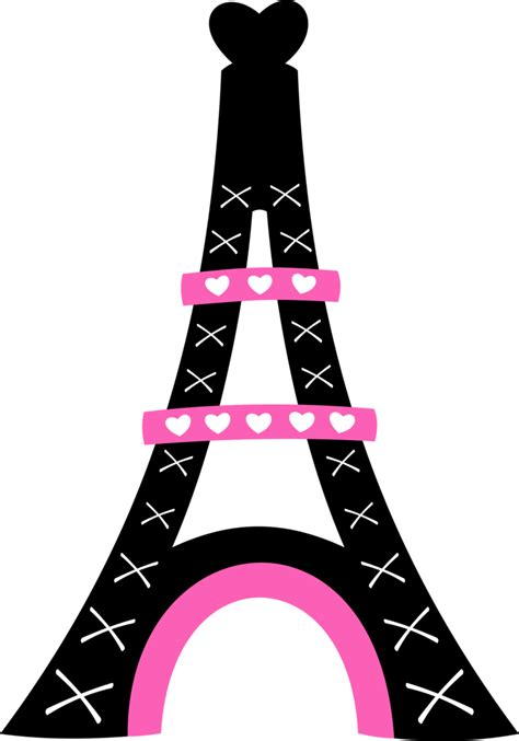 library  eiffel tower  crown svg  png files