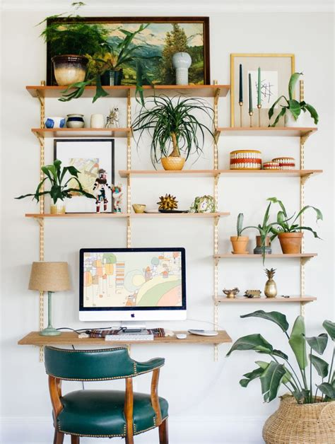 industrial shelf brackets 15 nature inspired home office ideas for a stress free