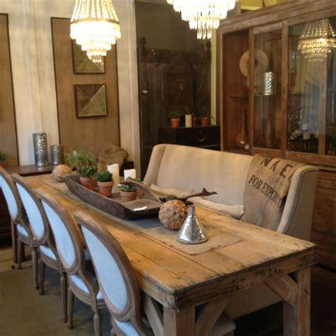 refinished sun bleached antique pine harvestfarm dining